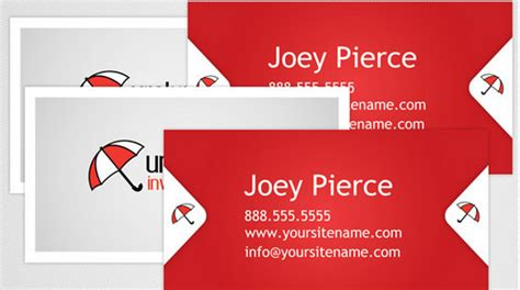 business card template illustrator 10 images
