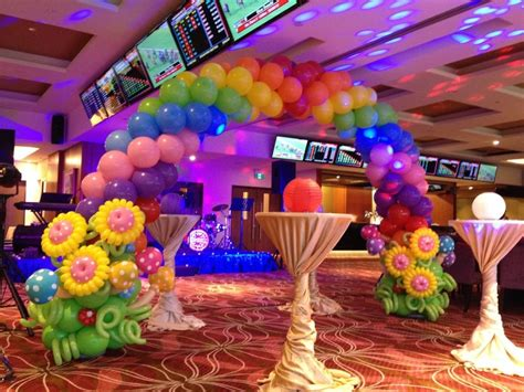 birthday party decoration at home home design the cheerful balloon decorating ideasall home