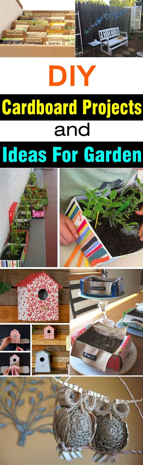 diy cardboard projects ideas  garden balcony garden web