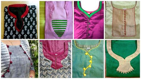 new pattern neck design top 10 neck designs for churidar images youtube