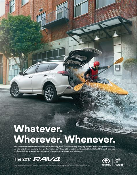 car ads 2017 toyota adventure anywhere ads of the world
