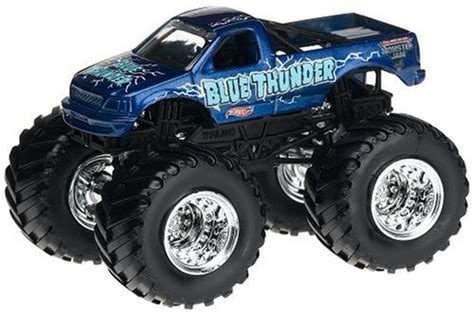 blue thunder truck wheels jam blue thunder truck scale 1 64