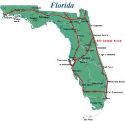 map of florida florida vacation destinations