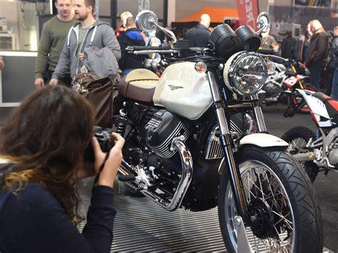 Motorrad Messe Friedrichshafen 2018 by Vorne Dick Hinten Schlank Retro Maschinen Als Eyecatcher