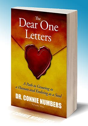 dear one books the dear one letters by dr connie numbers book reviews