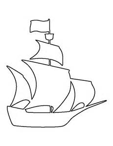 Pirate Ship Template by Pirate Ship Pattern Use The Printable Outline For Crafts