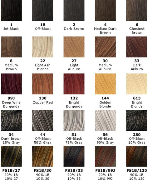 j beverly hills hair color chart make me heal shop