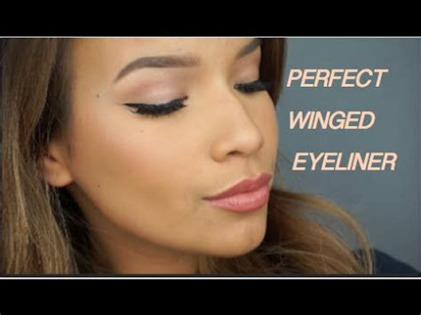 perfect winged eyeliner tutorial youtube how to perfect winged eyeliner tutorial zinniah mu 241 oz