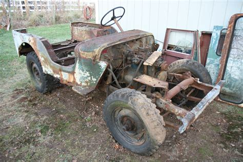 jeep chassis willys jeep cj3a chassis and drivetrain rebuild