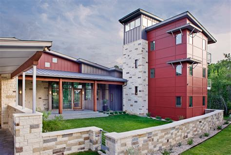 modern rancher natural stone facade for house exterior inspirationseek com