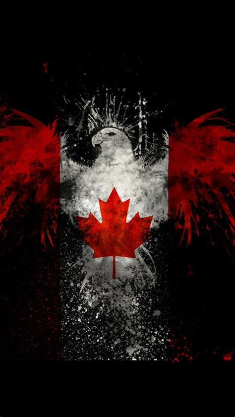 cool wallpaper canada cool eagle with canadian flag canada eh pinterest