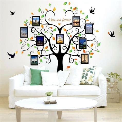 diy home family decor tree bird removable decal room wall