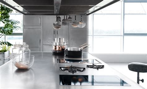 sleek and sumptuous stainless steel kitchen by abimis sleek and sumptuous stainless steel kitchen by abimis