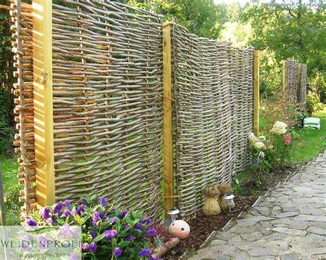 Beweglicher Sichtschutz Garten