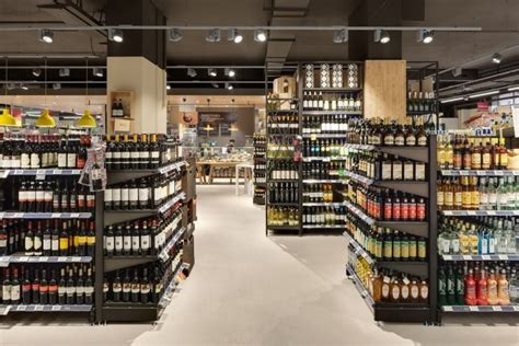 Cheese Di Carrefour carrefour gourmet market by interstore design and