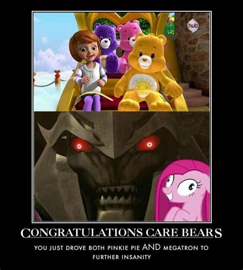 Care Bear Meme - damn you care bears my little pony friendship is magic
