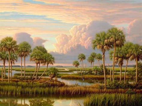 Landscape Paintings Realism Henry Genk Iii Realistic Landscape Paintings