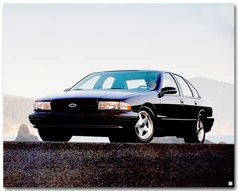 poster impala chevrolet impala 1996 ss poster chevymall