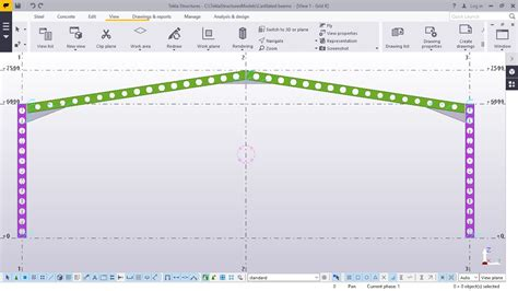 portal frame design youtube how to create portal frame using castellated columns and