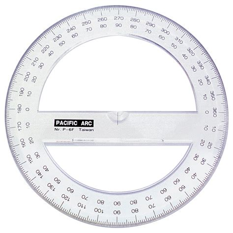 printable full protractor full circle protractor for kids www imgkid com the