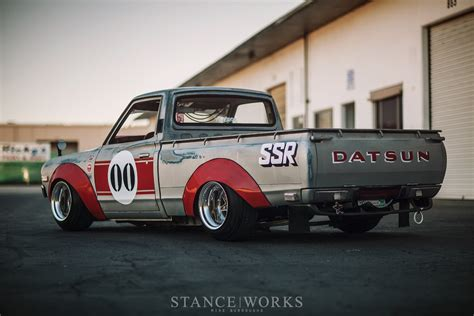 datsun pickup works style landon brown s 1973 datsun 620 pickup