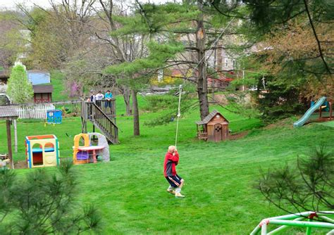 the backyard flying fox zip line outdoor play