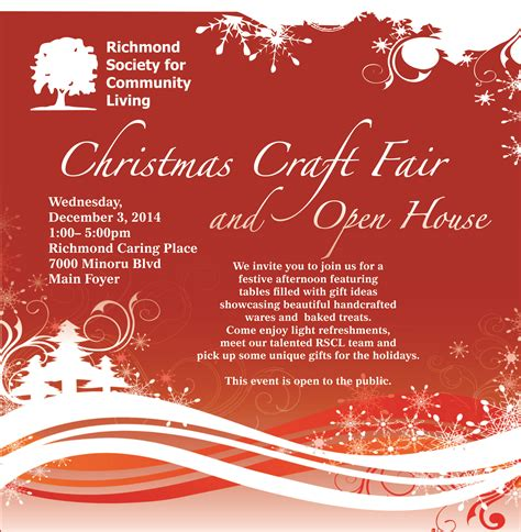 richmond scl s craft fair and open house inclusion bc