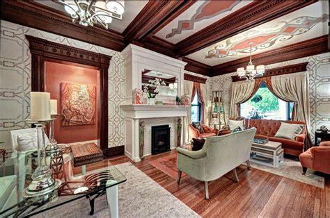 viktorianisches wohnzimmer einrichtung im viktorianischen stil opulente und