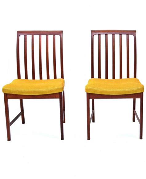 teak dining room furniture six danish modern folke ohlsson dux teak dining room chairs for sale at 1stdibs
