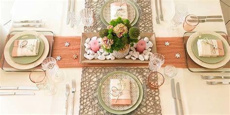 come apparecchiare una tavola una mise en place per primavera la casa in ordine
