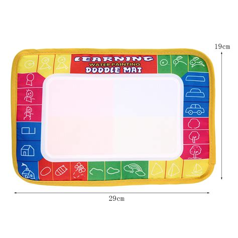 doodle board malaysia baby water drawing painting writing mat board pens