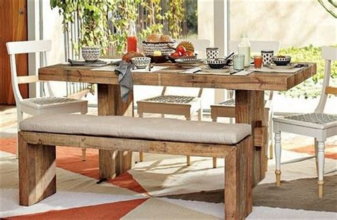 Pallet Wood Dining Table Recycled Pallet Dining Tables Pallet Wood Projects