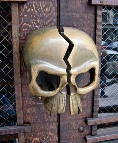 Skull Door Knob by Skull Door Knob Disturbed