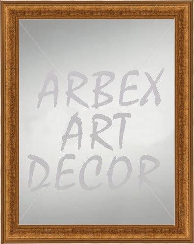 deco perete by arbex art decor picturi picturi celebre pictura oglinda de perete cu rama de lemn aurie pentru hol