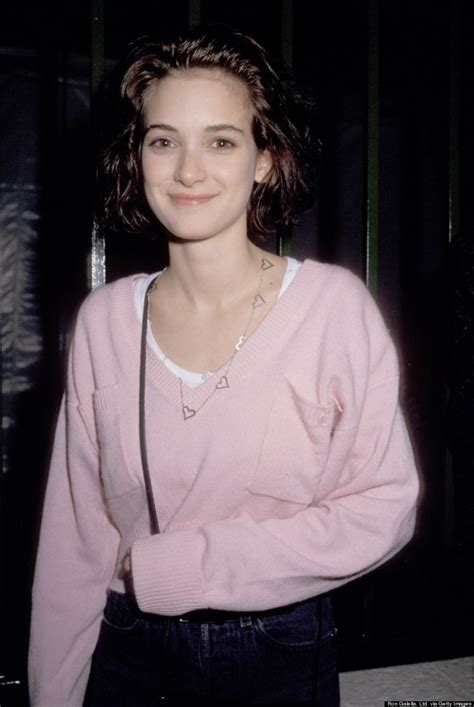Winona Makes A Fashionable Comeback With Us Vogue by Fbf Winona 80 S And 90 S Styledentelle Fleurs