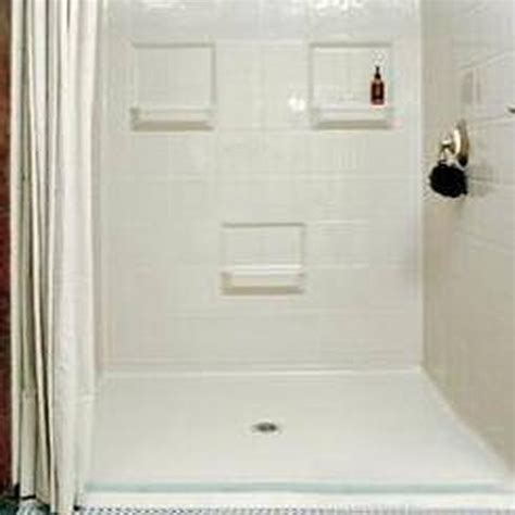 how to remove water stains from fiberglass showers