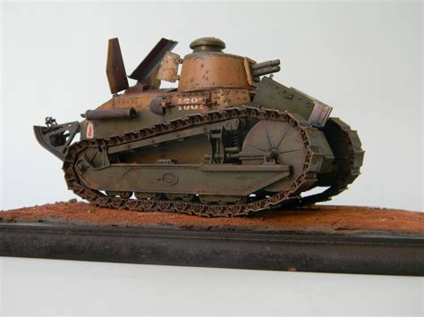 renault tank renault ft 17 light tank meng 1 35 my models