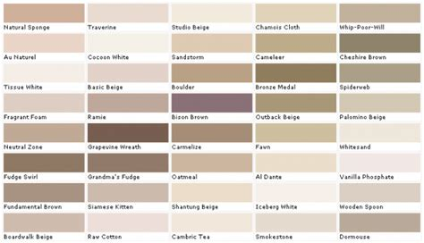 valspar color chart related keywords suggestions for kwal paint colors