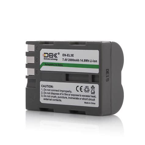 Battery Nikon En El3e 1 en el3e enel3e battery for nikon d50 d70s d80 d90 d100 d200 d300s d700 charger ebay