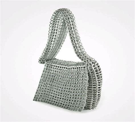 Tas Untuk Tab tas unik dan cantik dari pembuka kaleng bekas minuman