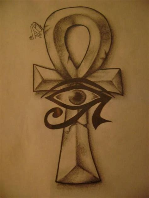 egyptian eye tattoo designs 22 best images about ankh on