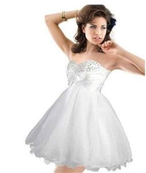 tiny puffy for pinterest cute cheap short white prom poofy formal prom homecoming