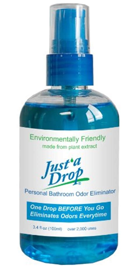 Bathroom Odor Eliminator Comparamus Just A Drop Bathroom Odor Eliminator Family Size Eucalyptus 100 Ml