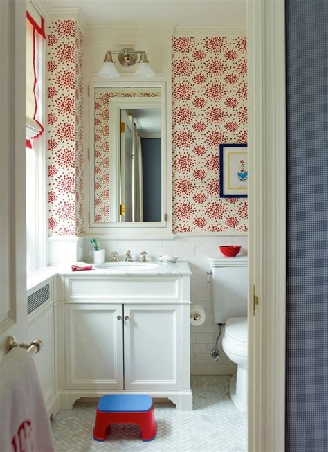 red bathroom blinds 17 best images about radiant red wallpaper ideas on