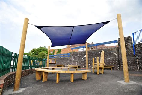 Shade Canopy by Waterproof Shade Sail Canopy Outdoor Classrooms