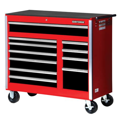 craftsman tool storage craftsman 42 quot 11 rolling storage with ball