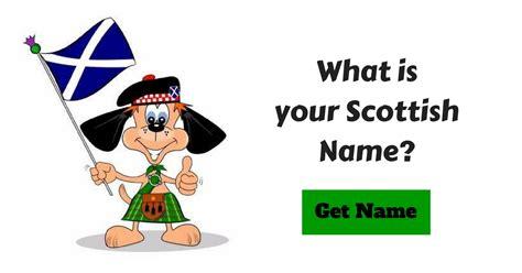 scottish names scottish name generator
