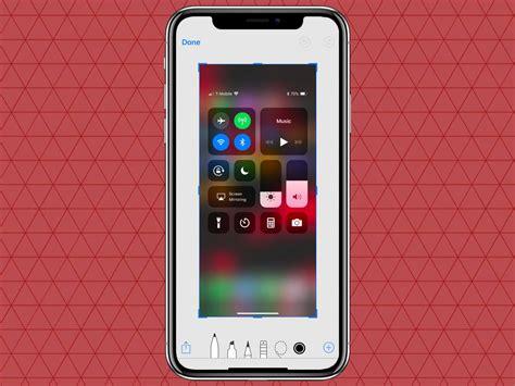 how to take screenshot on iphone x xs xr phoneworld