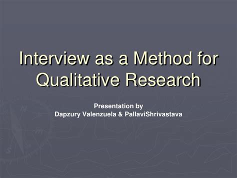 central themes in qualitative research interview as a qualitative method