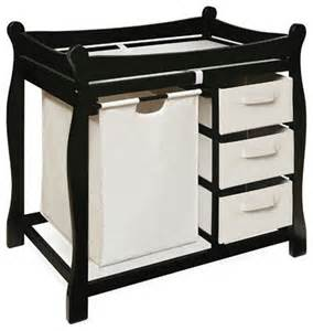 Modern Baby Changing Table Sleigh Style Baby Change Table With 3 Baskets And Her Modern Changing Tables